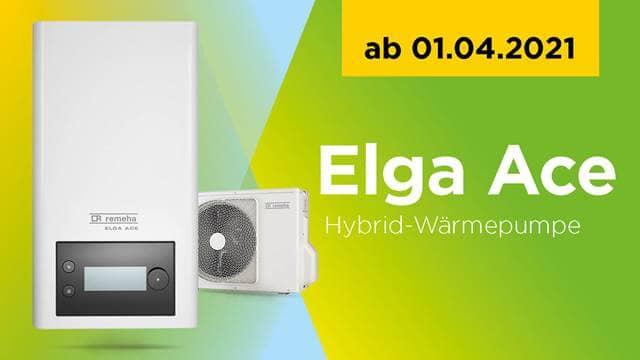 Hybrid-Wärmepumpe Elga Ace - Remeha GmbH