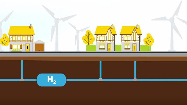 Heizen mit Wasserstoff im Gebäudebestand