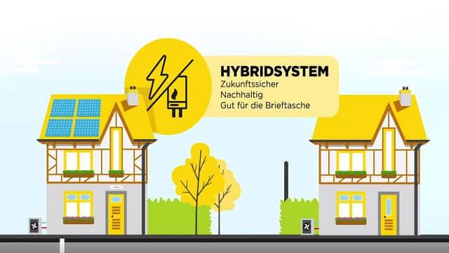 Hybridsystem von Remeha