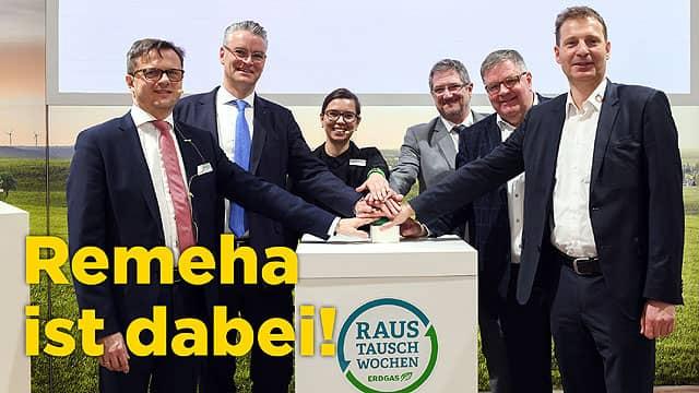 Remeha ist Partner bei den Raustauschwochen 2019