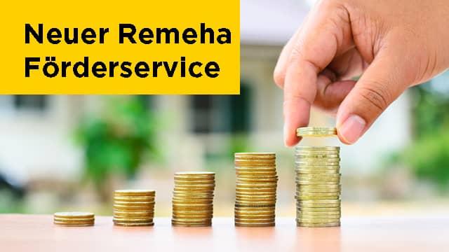 Neuer Förderservice bei Remeha