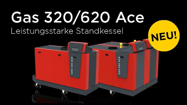 Gas-Brennwert-Standkessel Gas 320 und 620 Ace