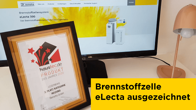 Haustec Award 2020 Brennstoffzelle