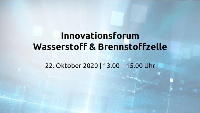 Innovationsforum Wasserstoff & Brennstoffzelle