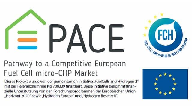 Logo Pace - Remeha - Brennstoffzellentechnik