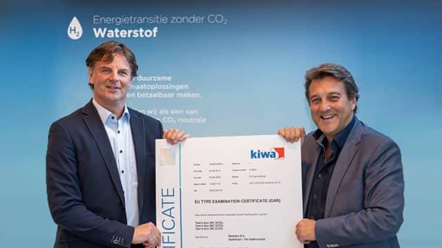 Wasserstoffzertifikat KIWA