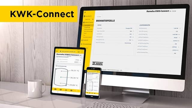 KWK-Connect für die Brennstoffzellenheizung
