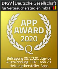Award eTwist App Remeha